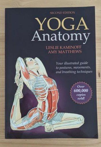 Yoga Anatomy Book by Leslie Kaminoff